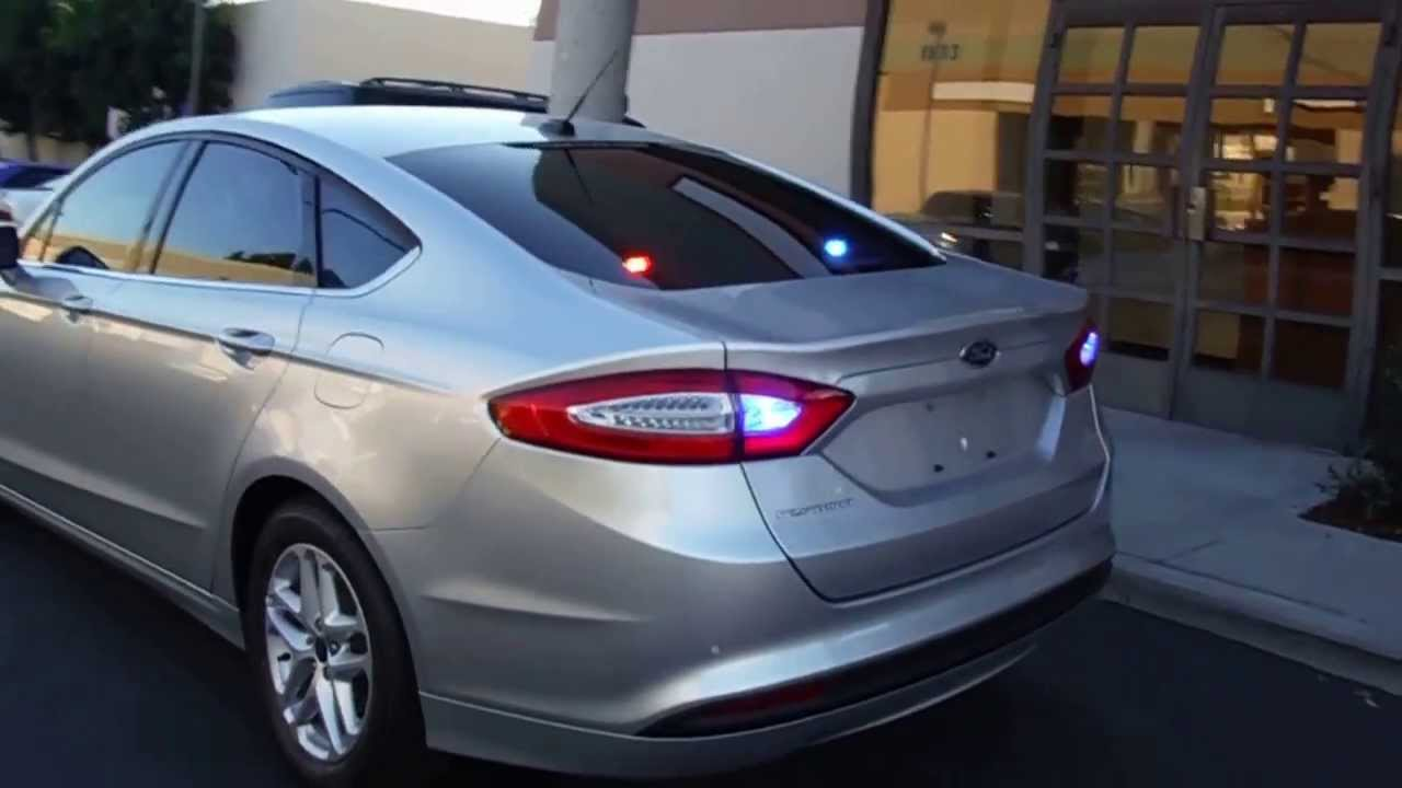 Ford Fusion White And Black >> Desert Hot Springs 2014 Ford Fusion Detective Vehicle - YouTube