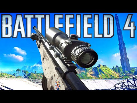 Battlefield 4: 6 Years Later 🏆 When Sniping was HARD
