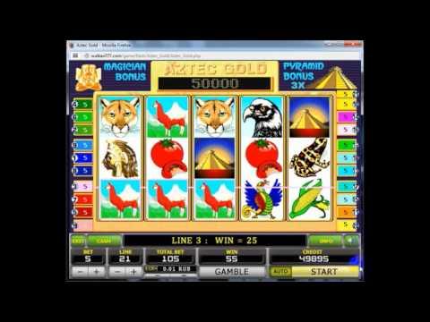 Игровой автомат Aztec Gold Обзор