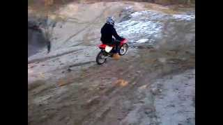 honda 80 dirt bike jump