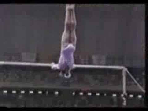 Gymnastics - 92 Olympics - UB Final