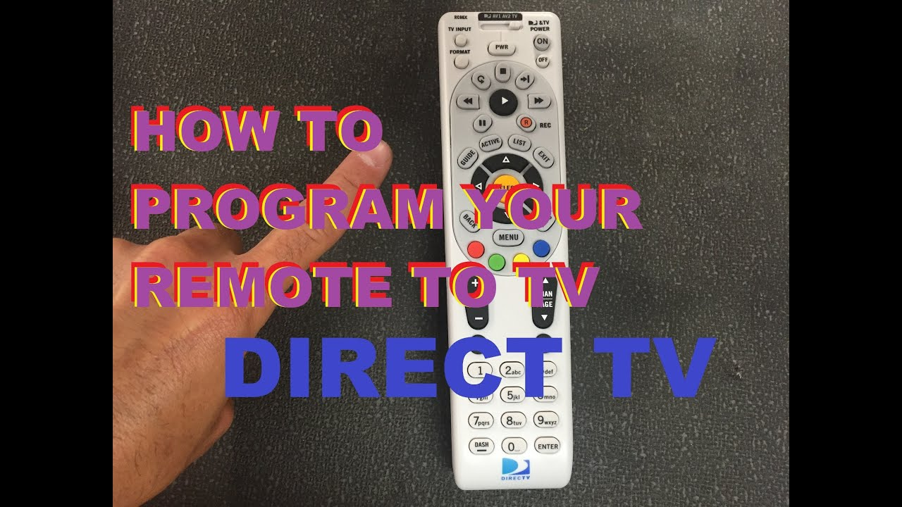 Samsung Tv Remote Codes Directv - Year of Clean Water