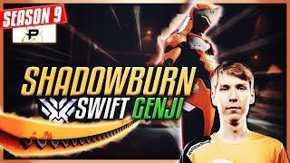SHADOWBURN's Genji is Amazing | Swift Moves (Philadelphia Fusion) [S9 TOP 500]