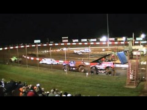 2013 Dixie Speedway Fall Monster Truck Nationais Dia 2 Intros
