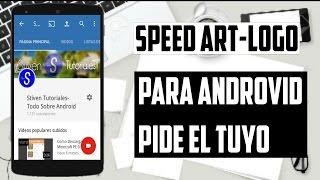 Speed Art-Logo | Para AndroVID | Stiven Tutoriales