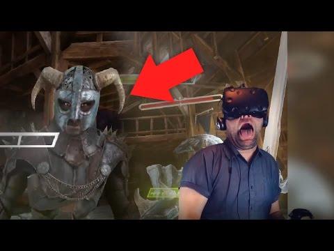 EPIC SWORD BATTLE!!!   Valkyrie Blade VR (HTC Vive)