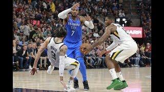 Full Utah Jazz Highlights vs Oklahoma City Thunder | Oct. 21st, 2017 | 2017-18 NBA Season
