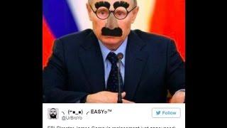 James Comey s successor Putin in Groucho glasses