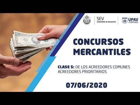 CONCURSOS MERCANTILES, CLASE