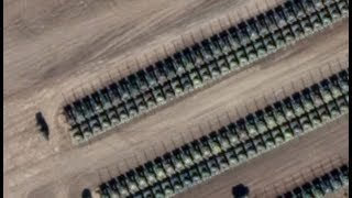 Satellite Imagery Shows Hundreds Of Russian Tanks Near The Border With Ukraine.