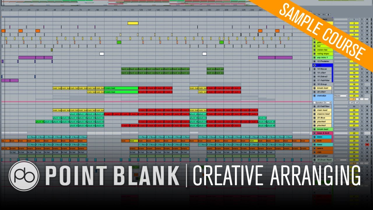 Deep minimal house in ableton live creative arrangement for House music structure