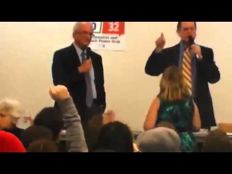 Brad Sherman, Howard Herman Fight At Debate   Raw Video