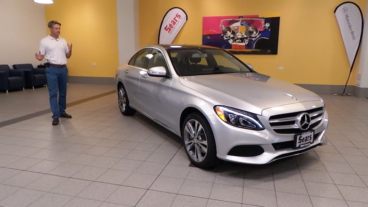 Review the all new 2015 mercedes benz c class c300 sport for Mercedes benz bloomington mn