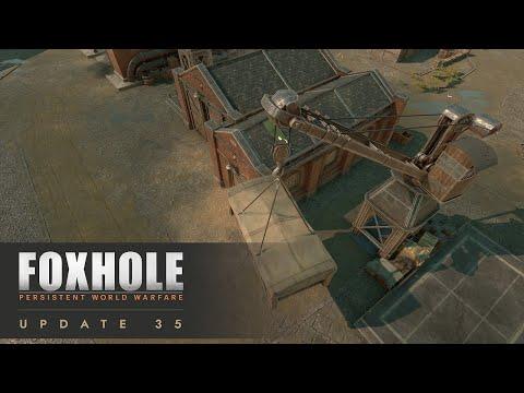 Weapons Of Mass Production (New Logi Mechanics) - Foxhole (Update 35)