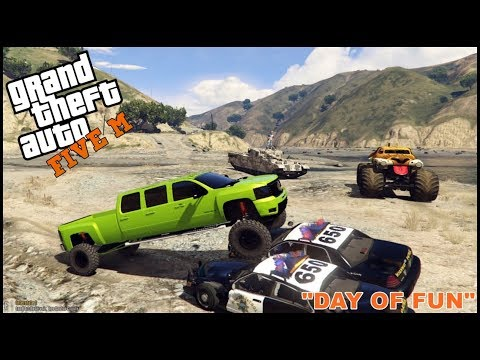 GTA 5 ROLEPLAY - ARMY TANKS, MONSTER TRUCKS, 6 DOORS 200TH EPISODE SPECIAL - EP. 200 - CIV