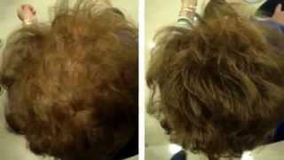 Keratin, fibras capilares. Cubre la alopecia en segundos.