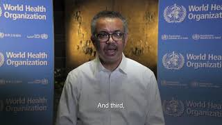 International Day for Epidemic Preparedness: WHO Director-General Dr Tedros Adhanom Ghebreyesus