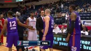 NBA D-League Highlights: Iowa Energy 118, Rio Grande Valley Vipers 139, 2013-3-21