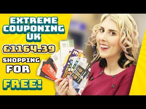 EXTREME COUPONING UK £1164.39 FOR FREE!