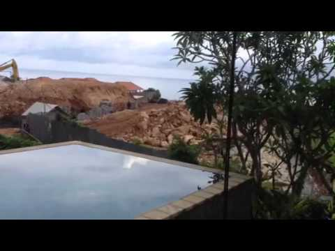 Villa Karang Bali is a Construction Site