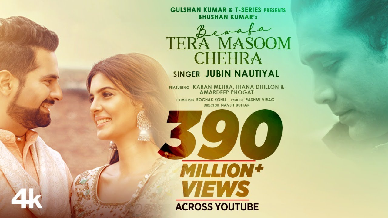 Download Bewafa Tera Masoom Chehra | Rochak Kohli Feat. Jubin Nautiyal, Rashmi V | Karan Mehra, Ihana Dhillon
