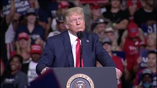President Trump's re-election rally in Tulsa