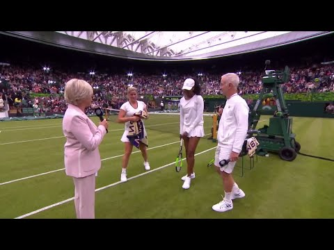 """""""She could be on Tour right now!"""" Venus Williams reflects on Kim Clijsters match on No.1 Court"""