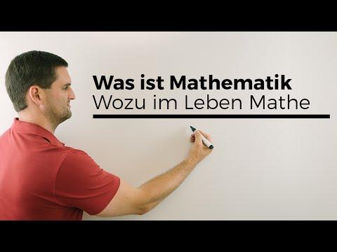 Was ist Mathematik? Wozu im Leben Mathe? Mathe ist wichtig;) Mathe by Daniel Jung