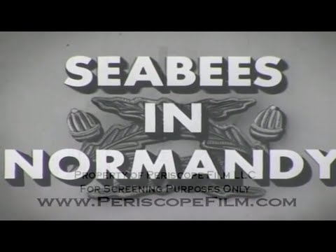 SEABEES IN NORMANDY - CBs in Normandy on D-Day 8022