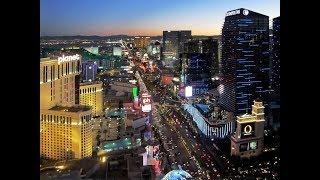 Las Vegas Strip Walk 4K August 2018