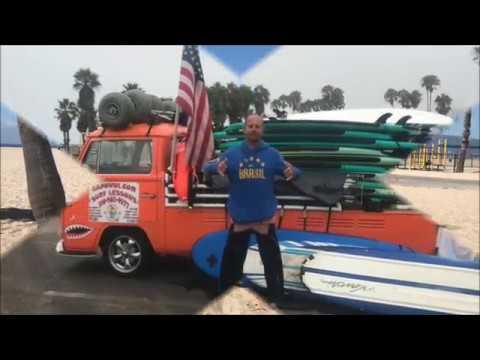 Juan's Bio Video Kapowui Surf Lessons Venice Beach / Santa Monica Ca.310-985-4577