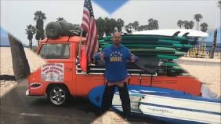 Juan's Bio Video Kapowui Surf Lessons Venice Beach / Santa Monica Ca.310-985-4577
