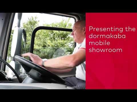dormakaba UK mobile showroom