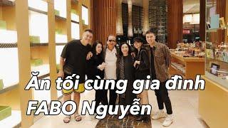 Ăn tối cùng gia đình FABO Nguyễn - Ngày hôm nay làm gì | Gia đình Cam Cam Vlog 57