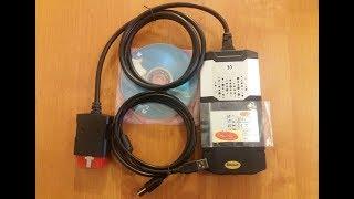 Купил мультимарочный сканер delphi ds150e Одноплатный