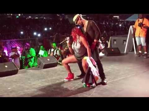 Antigua's All Star Band highlights at Miami Carnival 2015 - Miami Florida