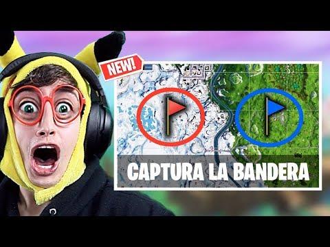 **CAPTURAR LA BANDERA** NUEVO MODO en Fortnite Battle Royale!! (Minijuego Personalizado)