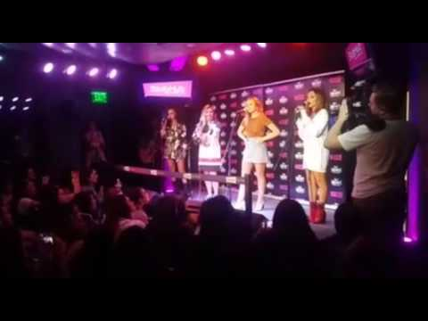 Little Mix Performing at 99.7 NOW Radio On The StubHub Stage - San Francisco, California