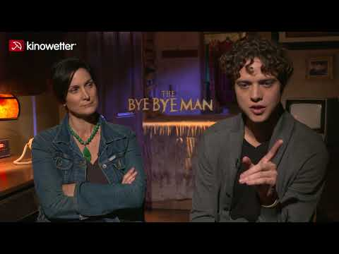 Interview Carrie-Anne Moss & Douglas Smith THE BYE BYE MAN