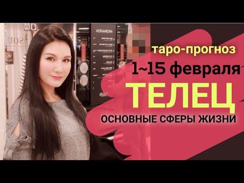 ТЕЛЕЦ ТАРО ПРОГНОЗ 1~ 15 ФЕВРАЛЬ 2020. Основные сферы жизни