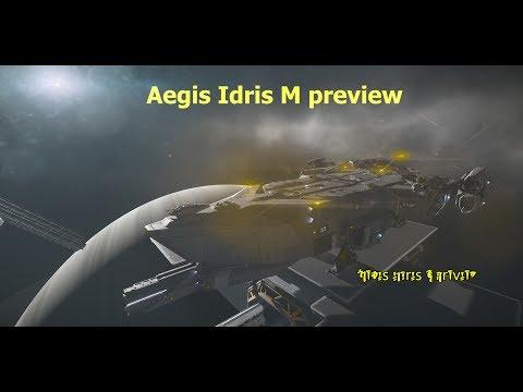 Star Citizen Aegis Idris tour