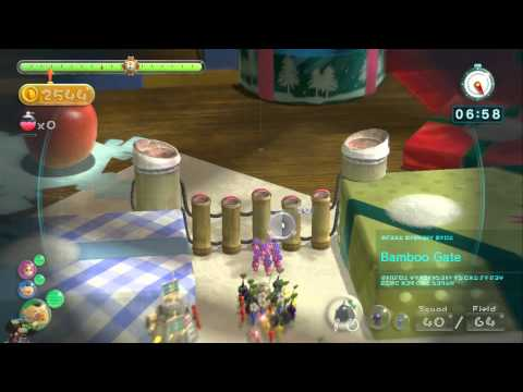 Pikmin 3 - Stage 11: Fortress of Festivity - 8480 (PLAT MEDAL) [COL TREASURE]