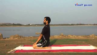 वज्रासन Vajrasana (Hindi)