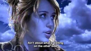 miley cyrus the climb 2009 super hq hd subtitles lyrics excelent audio disney version