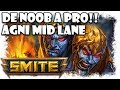 De Noob a Pro: Smite | Agni Gameplay Español | Varolete y David Arnaiz | MOBA gratis