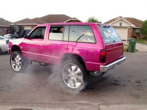 FIRST 94 BLAZER ON 26s WORLD WIDE - YouTube