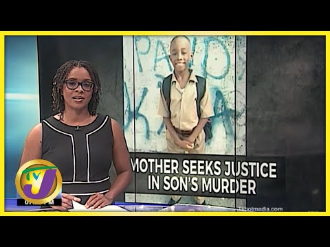 Mother Seeking Justice for 10 Yr Old's Murder   TVJ News - July 16 2021