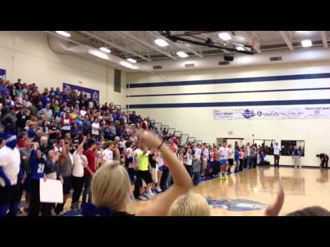 Miami High School - The Dog Pound - I Believe That We Will Win