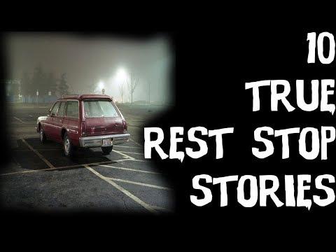 10 TRUE Terrifying Trucker & Rest Stop Horror Stories | Ft .Let's Read!