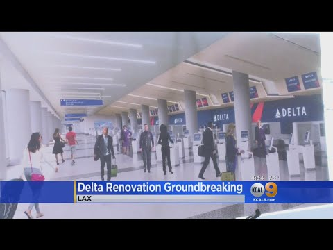 Delta Breaks Ground On LAX Terminal Renovations